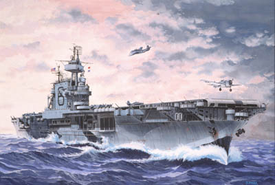 1/1200 USS Enterprise Aircraft Carrier