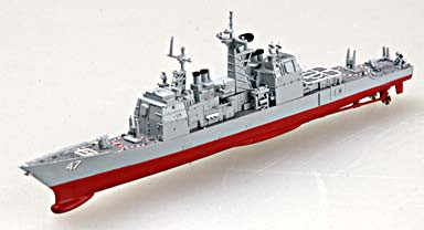 1/1250 USS Ticonderoga CG47 Cruiser (Built-Up Plastic)