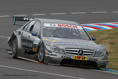 1/24 2011 Mercedes Benz Bank AMG C-Class DTM Race Car (B. Spengler)
