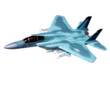 1/144 F15C Eagle Aircraft Snap Kit