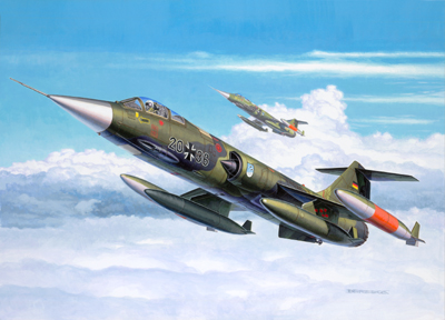 1/144 F104G Starfighter Aircraft