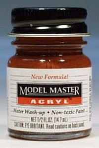 1/2oz. Bottle Model Master Acrylic Rust