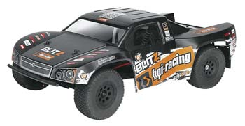 1/10 scale HPI Blitz Flux Short Course Truck.