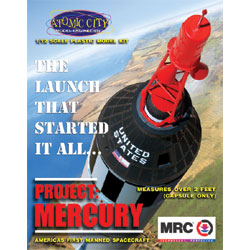 1/12 Project Mercury - America's First Manned Orbital Spacecraft (Plastic Kit)