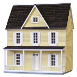 """1/2"""" Finished Yellow Farmhouse by Houseworks Ltd."""