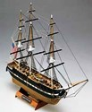 1/330 USS Constitution 3-Masted 1797 US Frigate Ship