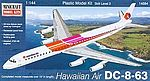 1/144 DC8-63 Hawaiian Commercial Airliner