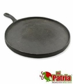 Large cast Iron round pan. 5 pcs