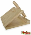 Wooden tortilla press. 8 pcs
