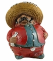 Mariachi money box. 6 Pzs