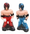 Wrestlers money box. 6 Pzs