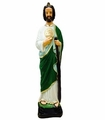 Plaster Saint Jude. 36 in Tall