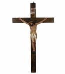 Resin Statue, Crucifijo 12 in. 6 Pzs