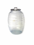 Plastic barrel 2.64 gal. 4 pcs