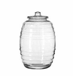 Glass barrel 2.652 gal. 2 pcs