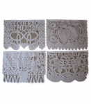 Papel Picado Boda. 6 pack of 1 String