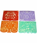 Papel Picado Multicolor. 6 pack of 1 String