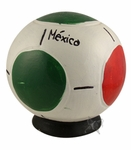 Soccer ball money box. 6 pzs