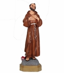 Resin Statue, San Francisco De Asis 12 in. 6 Pzs