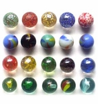 Mixed Marbles -  Canicas Mixtas 250 grs.