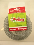 Large metallic scouring pad. 5 pcs