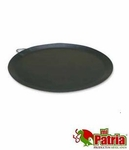Large steel round cooking pan. 10 pcs