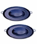 Small steel round cooking disk. 1 ps