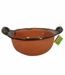 FOOD SAFE Large clay bowl. 5 pcs