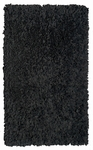 The Rug Market SHAG RUG SHAGGY RAGGY BLACK