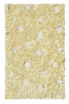The Rug Market SHAG RUG FLOWER SHAGGY RAGGY YELLOW 2.8X4.8