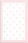 The Rug Market PETITE HOOK POLKA DOTS PINK