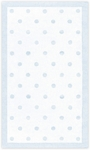 The Rug Market PETITE HOOK POLKA DOTS LT BLUE