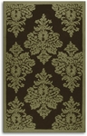 The Rug Market HOOK DAMASK SAGE