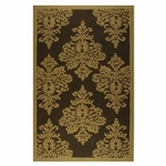 The Rug Market HOOK DAMASK GOLD