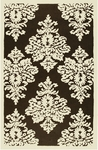 The Rug Market HOOK DAMASK BROWN