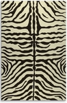 The Rug Market HOOK ZEBRA BROWN
