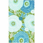 The Rug Market HOOK DANDELION BLUE