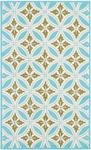 The Rug Market HOOK FLORIN BLUE