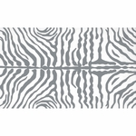 The Rug Market HOOK ZEBRA GREY