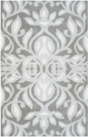 The Rug Market TUFTED/HOOK ANTIONETTE GRAY