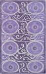 The Rug Market TUFTED SUZANI TILE LAVANDER