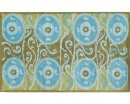 The Rug Market TUFTED SUSZANI TILE BLUE