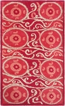 The Rug Market TUFTED SUZANI TILE RED