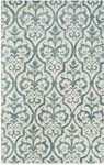 The Rug Market TUFTED ELLIGANT GRILLE BLUE 5X8