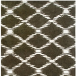 The Rug Market TUFTED SCALE BROWN 8X11