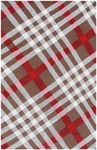 The Rug Market TUFTED BRIT PLAID 5X8