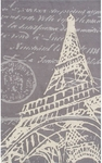 The Rug Market TUFTED TOUR EIFFEL 5X8