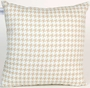 Glenna Jean Central Park Pillow - Houndstooth Check