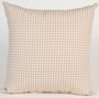 Glenna Jean Central Park Pillow - Tan Check