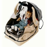 Sasha's Infant Carrier / Car Seat Wrap Around Rain and Wind Cover